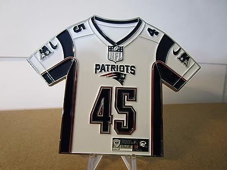 online store 923ca 62637 Amazon.com: POTUS 45 Donald Trump NFL Patriots Jersey ...