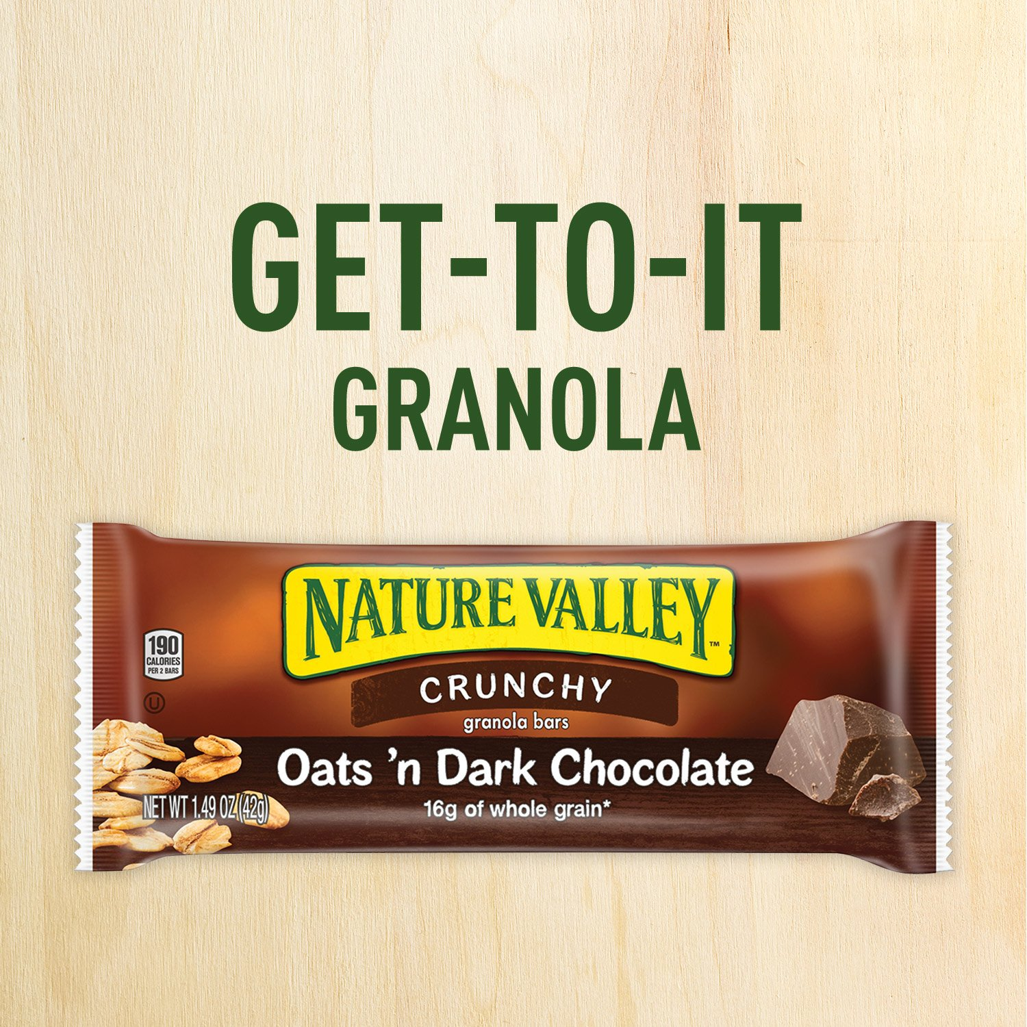 Nature Valley Granola Bars, Crunchy, Oats and Dark Chocolate, 12 Count, Pack of 6 by Nature Valley (Image #6)