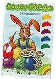 50 Färbetabletten für Ostereier, Kaltfärben, Eierfarben, 10 x 5 Farben f. Ostern