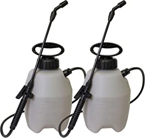 Chapin International Chapin 16109 1-Gallon Home and Garden Sprayer-2 Pack, 1 Gallon 2-Pack, Translucent