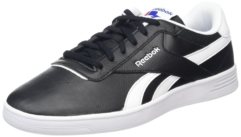 Reebok Herren Royal Slam Sneakers, Schwarz  44 EU|Schwarz (Black 001black 001)