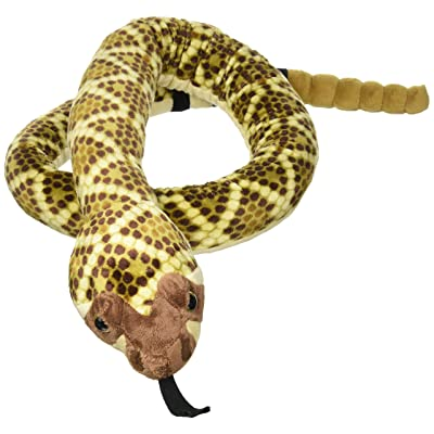 "Wild Republic Snake Plush, Stuffed Animal, Plush Toy, Gifts for Kids, Western Diamondback 70"": Wild Republic: Toys & Games"
