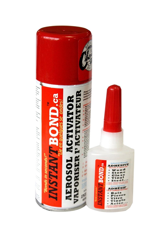 Best instant Wood Glue, MDF, Stone, Automotive, Inoteca Inc. 81701MX