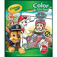 Crayola Color & Sticker Book - Paw Patrol