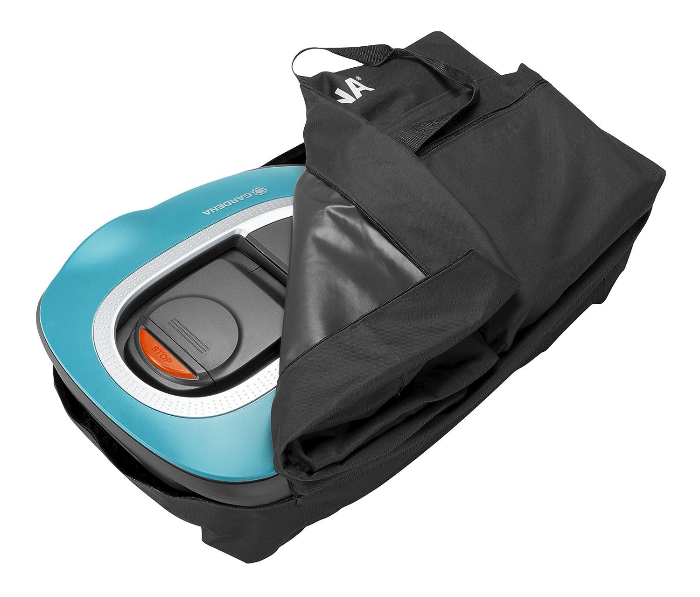 Bolsa de almacenaje GARDENA: bolsa para robot cortacésped, para un almacenamiento seguro y seco, para todos los robots cortacésped GARDENA incl. estación de ...