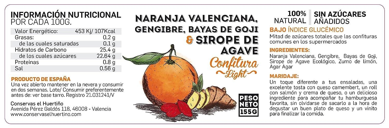 Lote 4 Confituras Light 25% Azucar España - Calabaza Asada ...