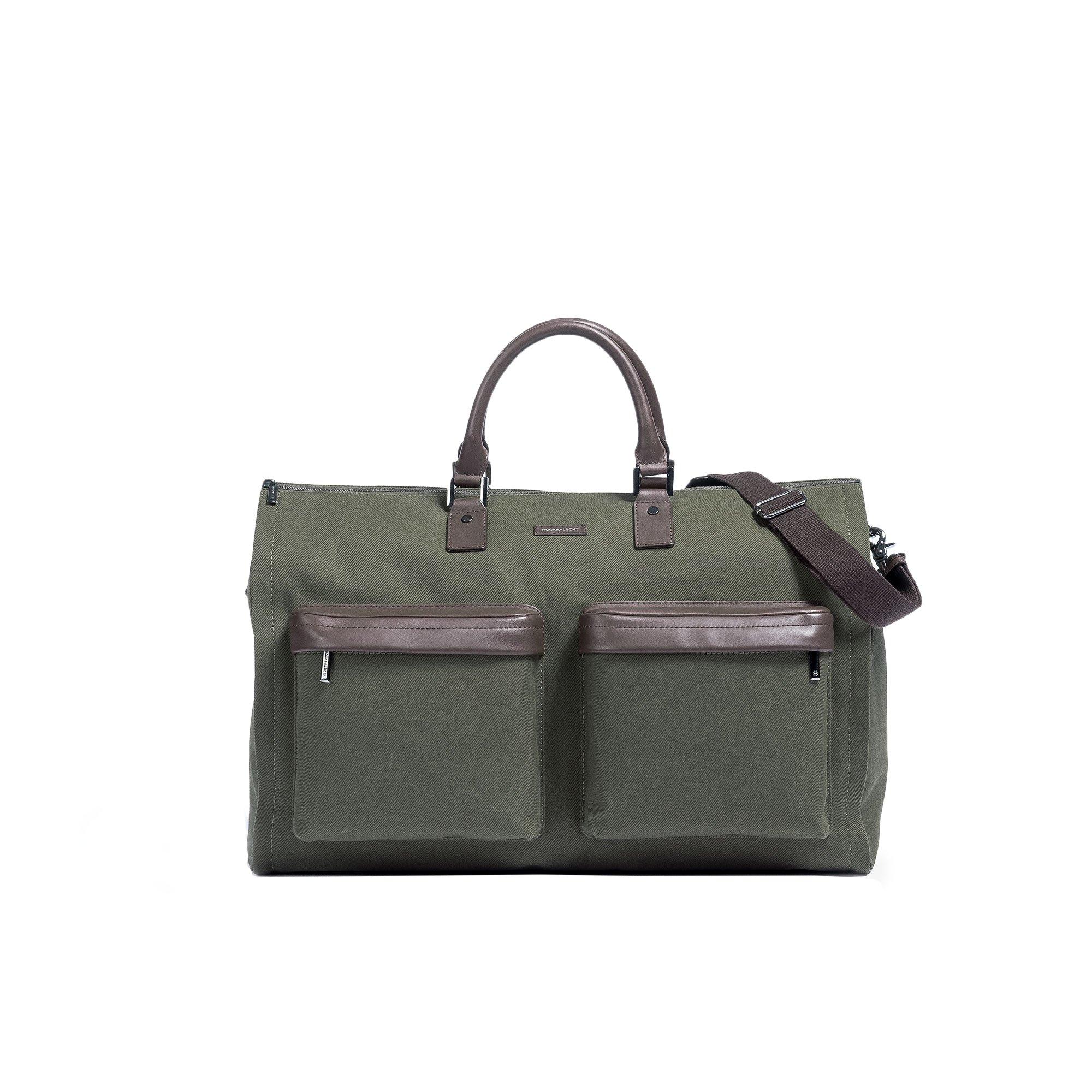 Hook & Albert Garment Weekender Bag (Olive)
