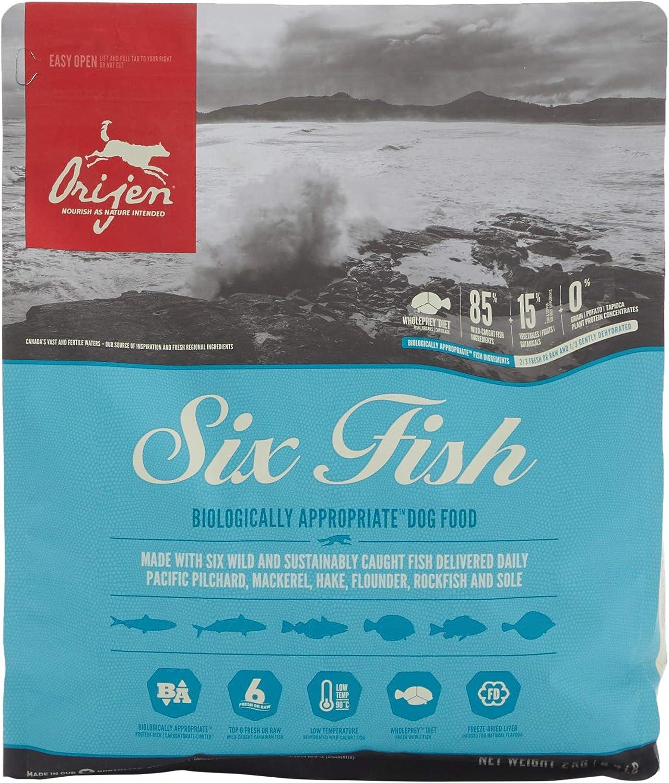 Orijen 6 Fish Comida para Perros - 2000 gr