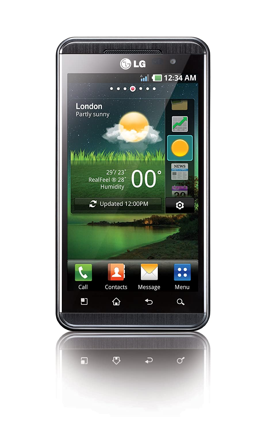 LG Optimus 3D P920 Sim Free Touch Screen Android Mobile Amazoncouk Electronics