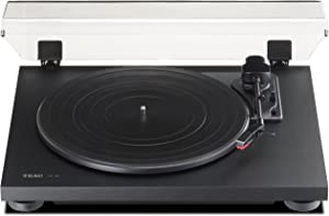 Teac TN100B Belt Drive Turntable Preamp and USB, Black