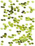 Coriandoli da tavola rotondi verdi Taglia Unica
