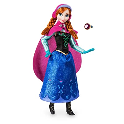 Disney Anna Classic Doll with Ring - Frozen - 11 ½ Inches: Toys & Games