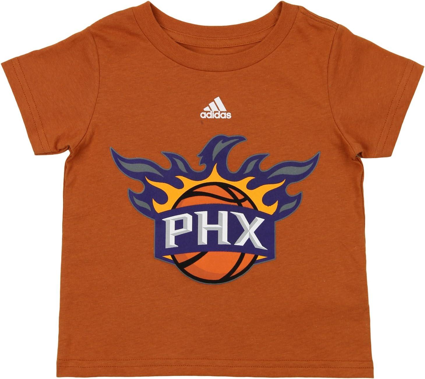 adidas NBA Camiseta de Manga Corta con Logotipo de Phoenix Suns ...