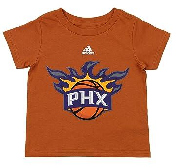 adidas NBA Camiseta de Manga Corta con Logotipo de Phoenix ...
