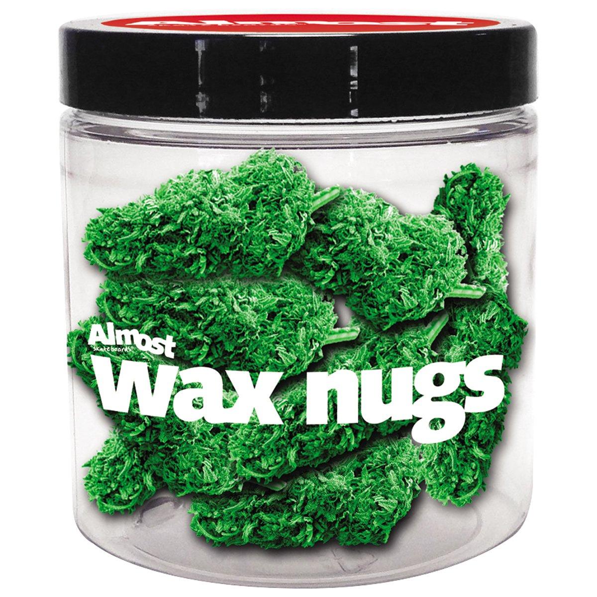 Almost Wax Nugs Skateboard Wax - Green, 18 pk by Almost