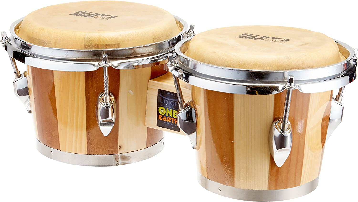 Union One Earth UB1 Bongo Drums: Amazon.co.uk: Musical Instruments
