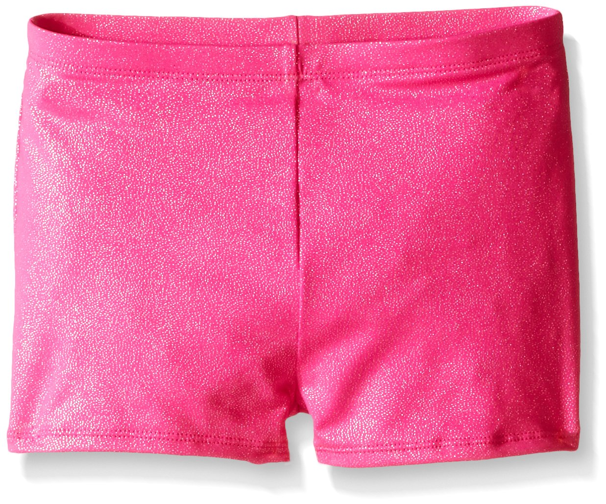 Jacques Moret Little Girls' Gymnastics Micro Short, Pizzazz Pink, Small