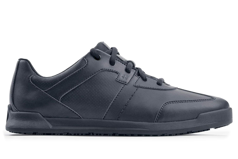 Shoes For Crews Freestyle - Zapatillas de Deporte para Hombre, Color Negro, Antideslizante, Estilo 38140, 6.5 UK, Negro, 1