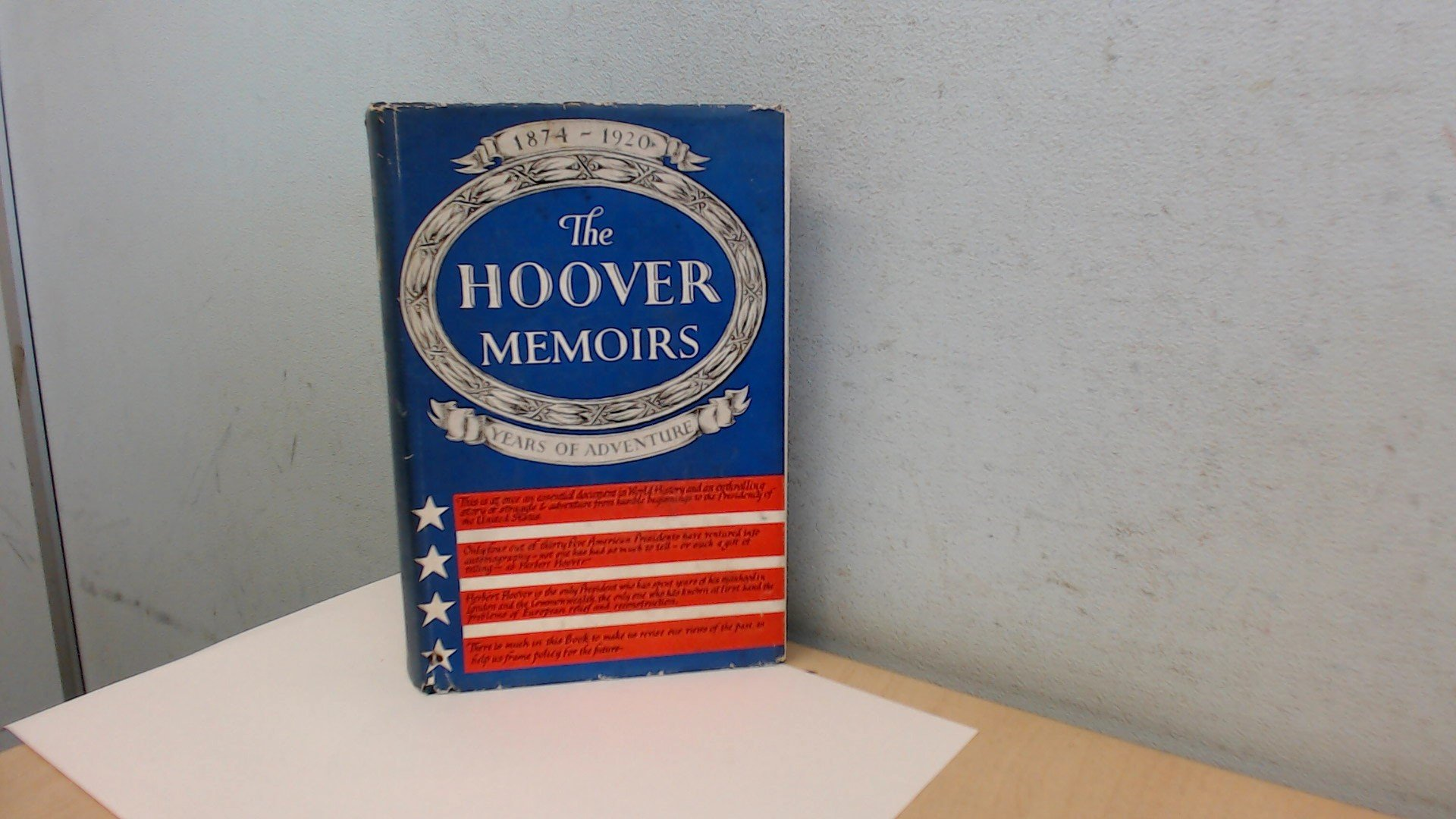 The memoirs of Herbert Hoover: The cabinet and the presidency ...
