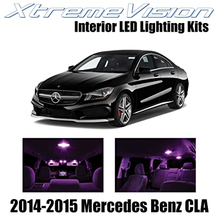 Marvelous Xtremevision Interior Led For Mercedes Benz Cla 2014 2015 13 Pieces Pink Interior Led Kit Installation Tool Download Free Architecture Designs Scobabritishbridgeorg