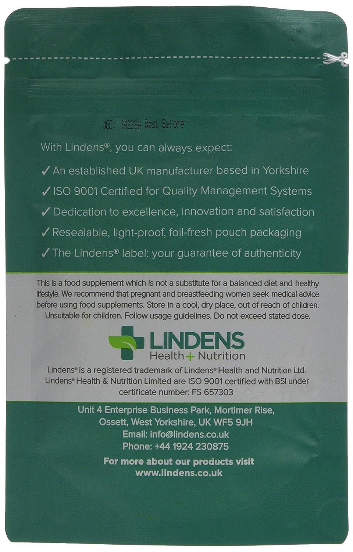 Lindens Ácido fólico 400 mcg en comprimidos | 240 Paquete | Apoya la formación normal de la sangre, la función del sistema inmunitario, contribuye a reducir ...