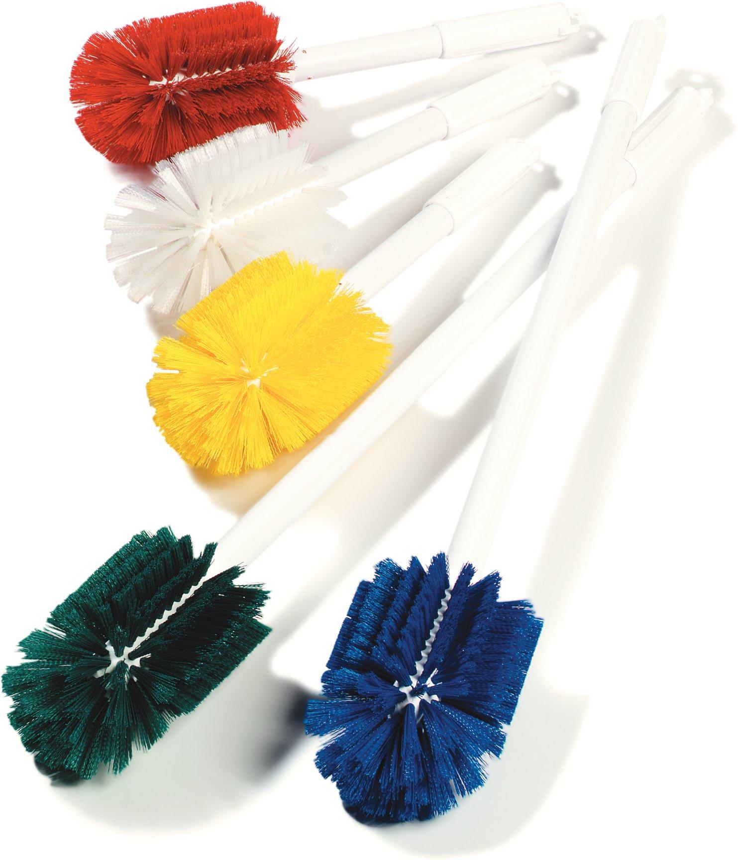 Carlisle 4000309 Multi-Purpose Oval Valve Brush, 3.5'' x 5'' Polyester Bristles, 30'' Length, Green by Carlisle (Image #7)