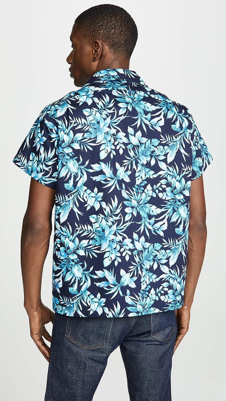 Big Tropical Naked /& Famous Mens Aloha Shirt