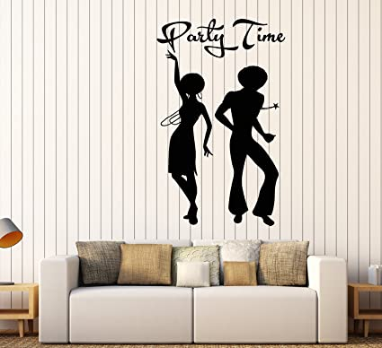 Super Amazon Com Vinyl Wall Decal African Man And Woman Disco Ocoug Best Dining Table And Chair Ideas Images Ocougorg