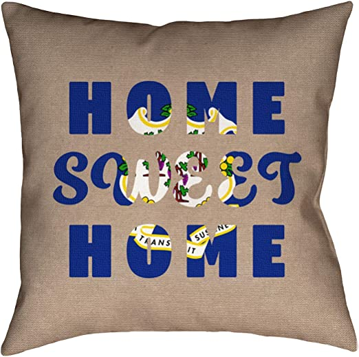 Updated Fabric Pillow-Faux Linen Double Sided Print with Concealed Zipper ArtVerse Katelyn Smith Colorado 20 x 20 Pillow Cover Only