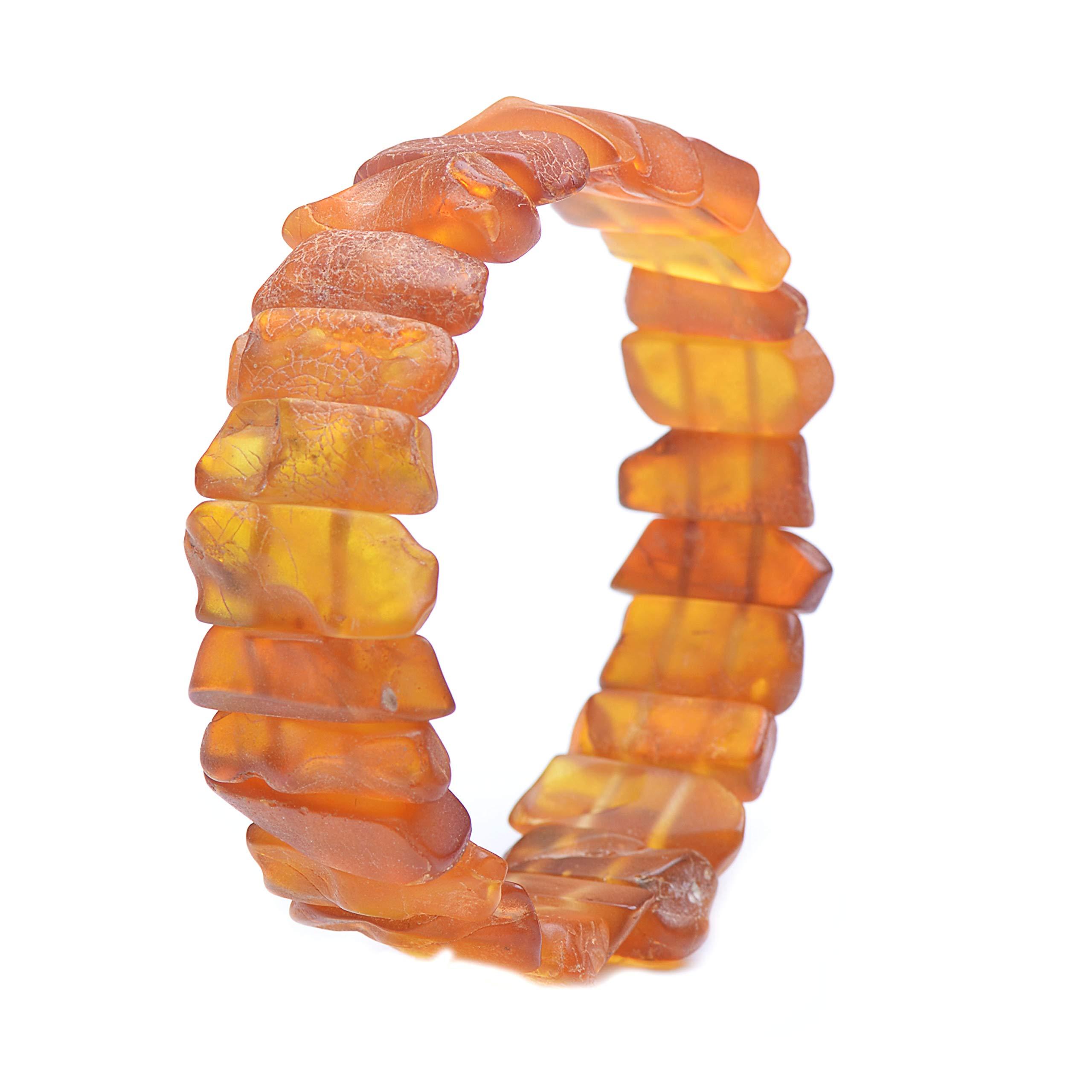 Amber Bracelet - Unique Amber Bracelet - Exclusive Amber Bracelet - Vintage Bracelet - Genuine Baltic Amber by Genuine Amber (Image #2)