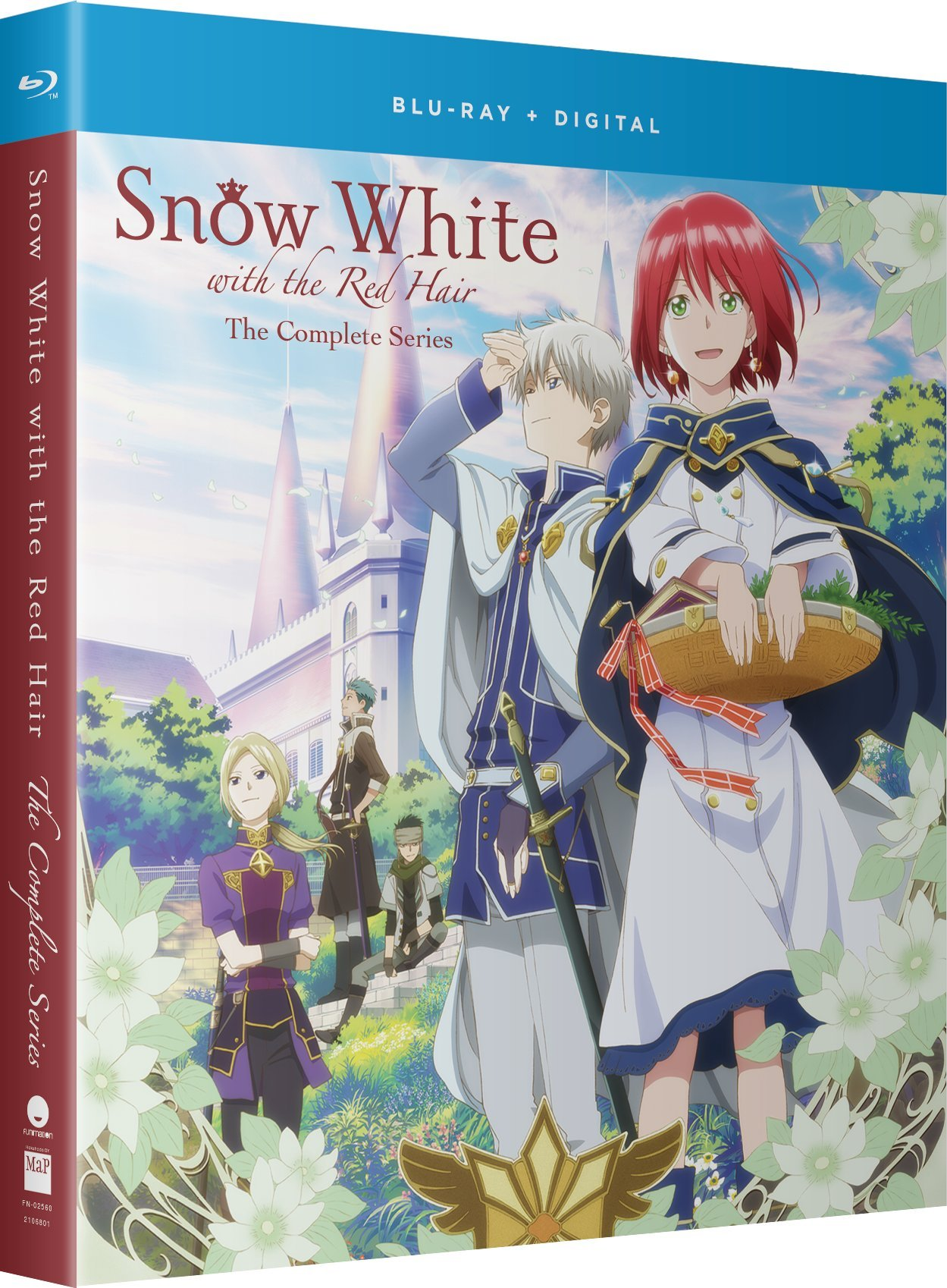 Blu-ray : Snow White With The Red Hair: The Complete Series (Standard Edition, Boxed Set, Uncut, Subtitled, Snap Case)
