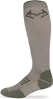 product image for RealTree Heavyweight Merino Wool Tall All Season Boot Socks 1 Pair
