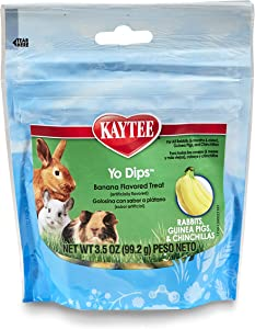 Kaytee Banana Flvor Yogurt Dipped Treat for Rabbit, Guinea Pig and Chinchilla, 3.5 oz.