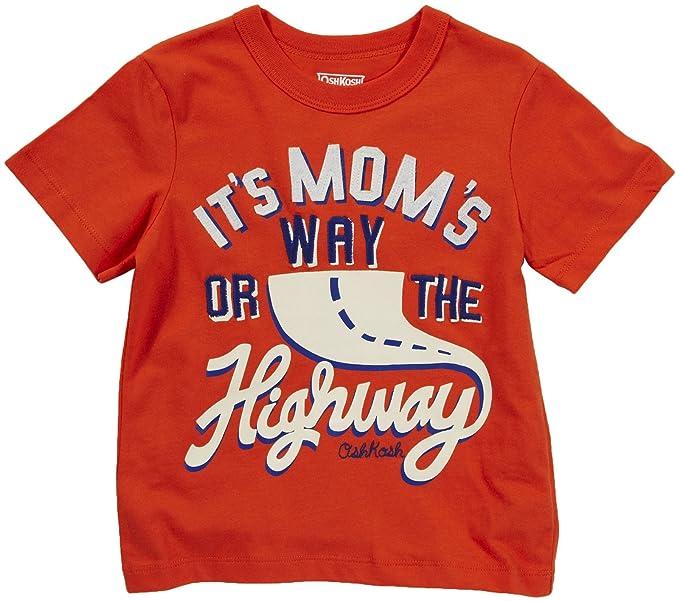 746b8dbe3c8a56 OshKosh B Gosh T-Shirt Größe 92 98 Orange für Jungen Spruch Mom US ...