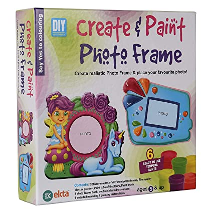 Buy Ekta Create & Paint Photo Frame Online at Low Prices in India ...