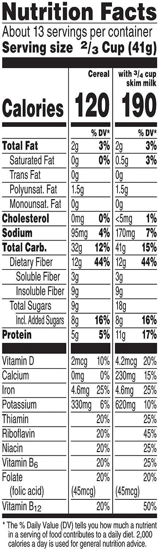 Amazon com : Kellogg's All-Bran Buds, Breakfast Cereal