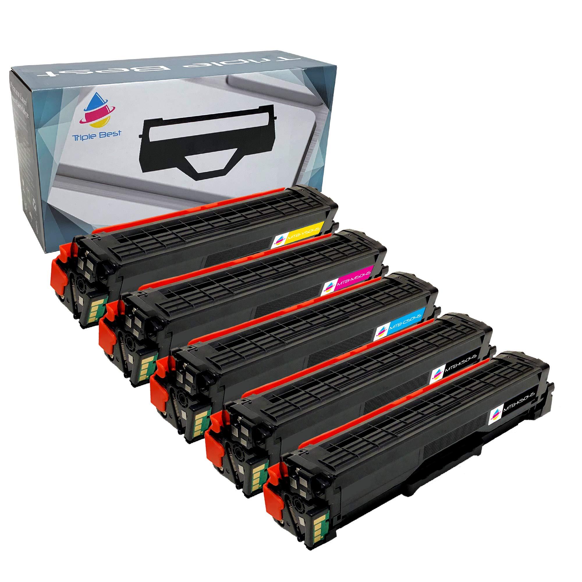 Toner Alternativo ( X5 ) 4 Colores Clt-k504s Clt-c504s Clt-m504s Clt-y504s Xpress C1810w Xpress C1860fw