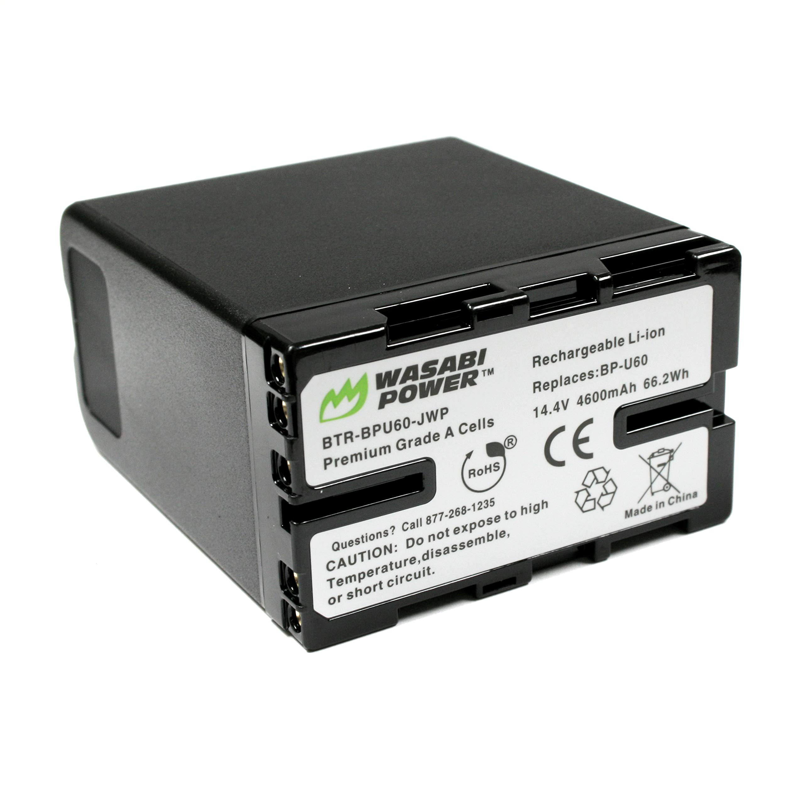 Wasabi Power Battery for Sony BP-U60 and Sony PMW-100, PMW-150, PMW-160, PMW-200, PMW-300, PMW-EX1, PMW-EX1R, PMW-EX3, PMW-EX160, PMW-EX260, PMW-EX280, PMW-F3, PXW-FS5, PXW-FS7 by Wasabi Power