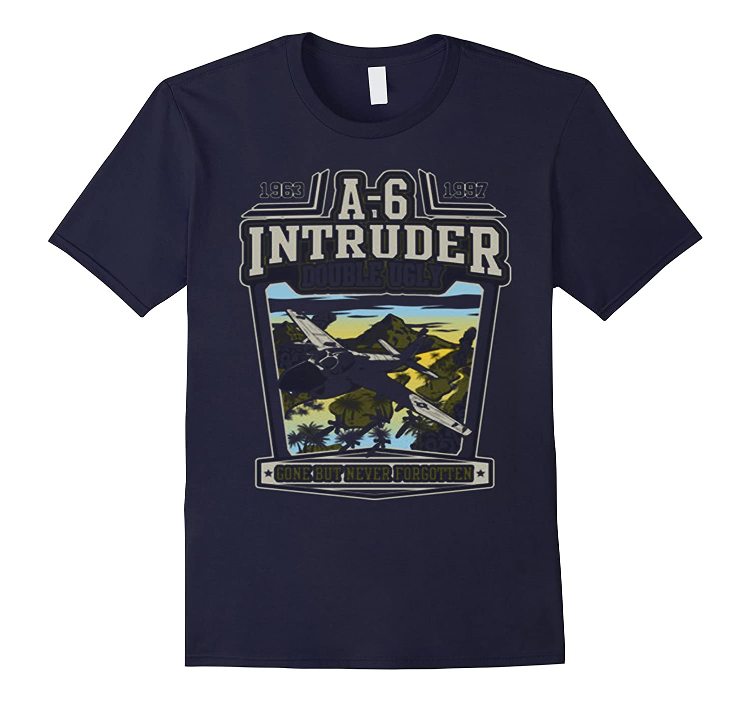 A-6 INTRUDER - DOUBLE UGLY TSHIRT-TD