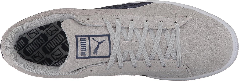 PUMA Classic Badge Baskets pour Homme Gray Violet Peacoat