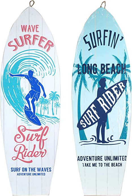 10 cm x12 Planches de Surf Vidal Regalos Aimant pour r/éfrig/érateur C/éramique
