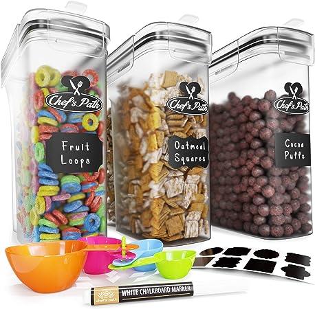 Set de Cajas de Almacenaje para Cereales y Harina - Tapers para ...