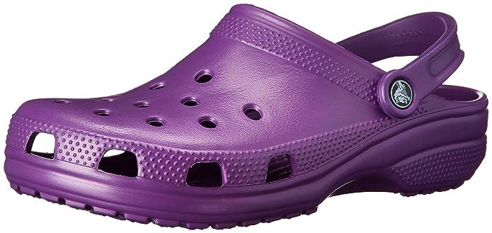 crocs Classic, Unisex - Erwachsene Clogs, Violett (Lilac), 41/42 EU