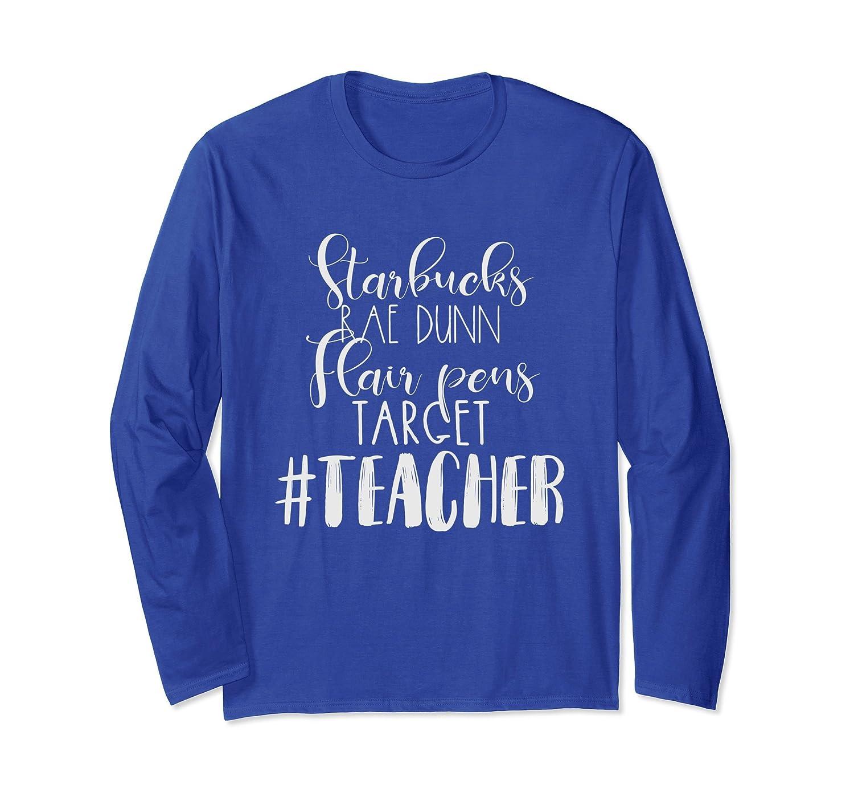 Coffee Teacher Tees - Rae Dunn Flair Pens Target Tshirts-AZP