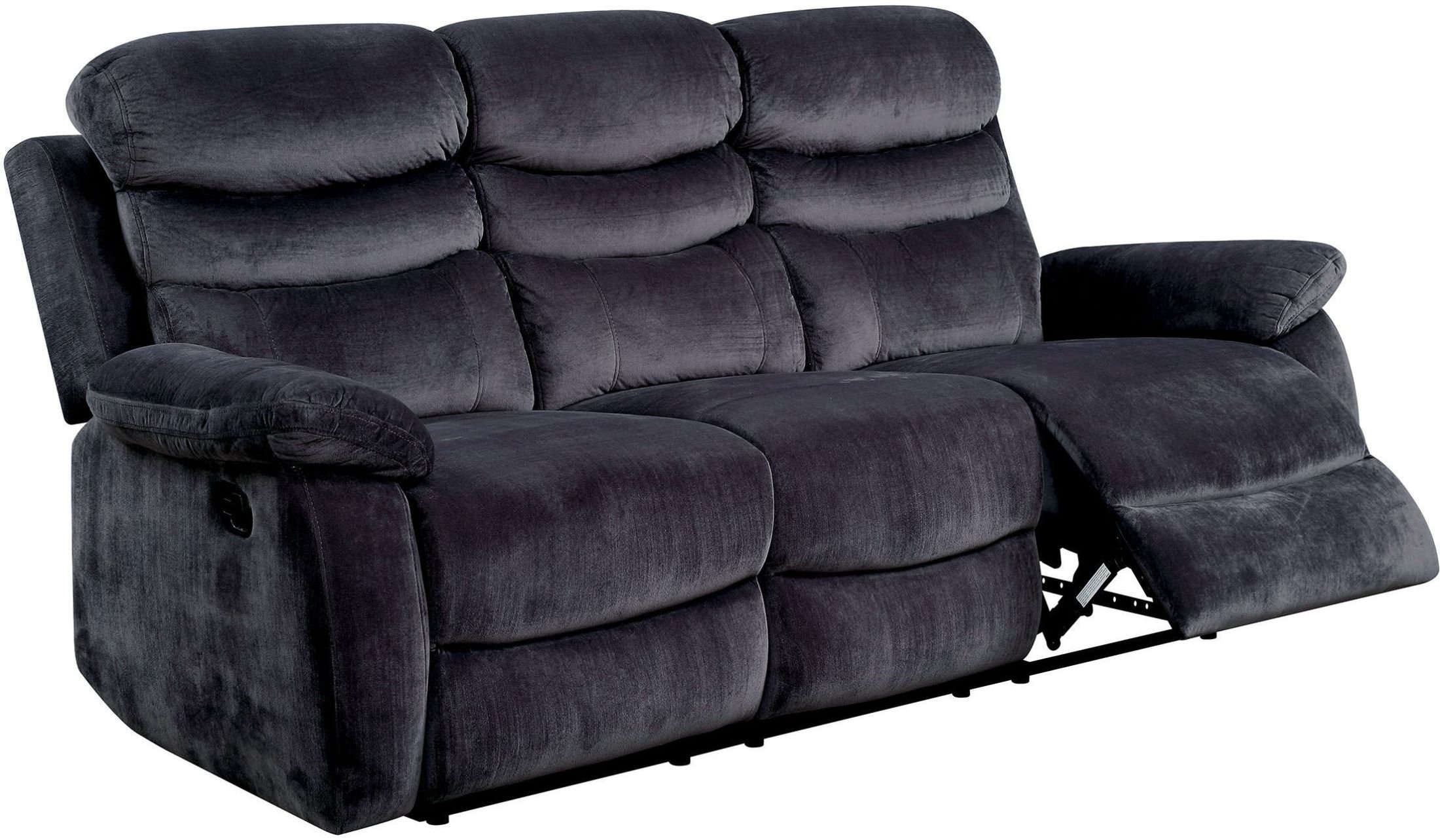 Furniture of America CM6238-SF Leigh Reclining Furniture, Gray by Furniture of America (Image #1)