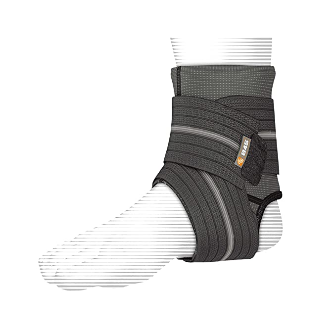 Shock Doctor Ankle Sleeve with Compression Wrap
