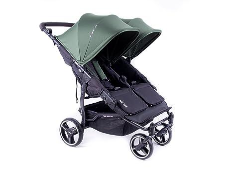 NUEVA Silla Gemelar Easy Twin 3.0.S de paseo Baby Monsters - Color Forest + REGALO de una barra gemelar: Amazon.es: Bebé