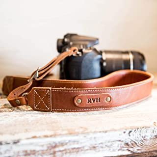product image for The Nomad Personalized Fine Leather Camera Strap