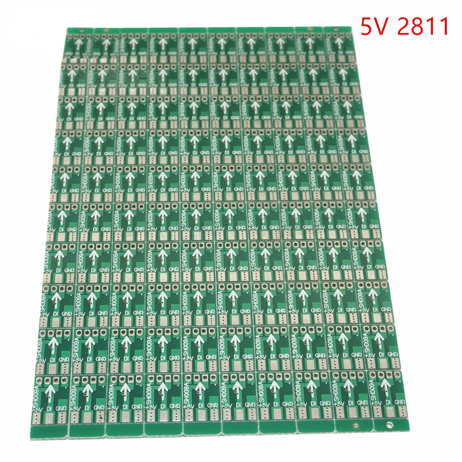Processes 100pcs Pack Dc5v Dc12v Ws2811 Ic Led Circuit Light Emitting Diode Boardpcb Modules Boards And Board Pcb Rgb Pixel Module2811 Home Improvement