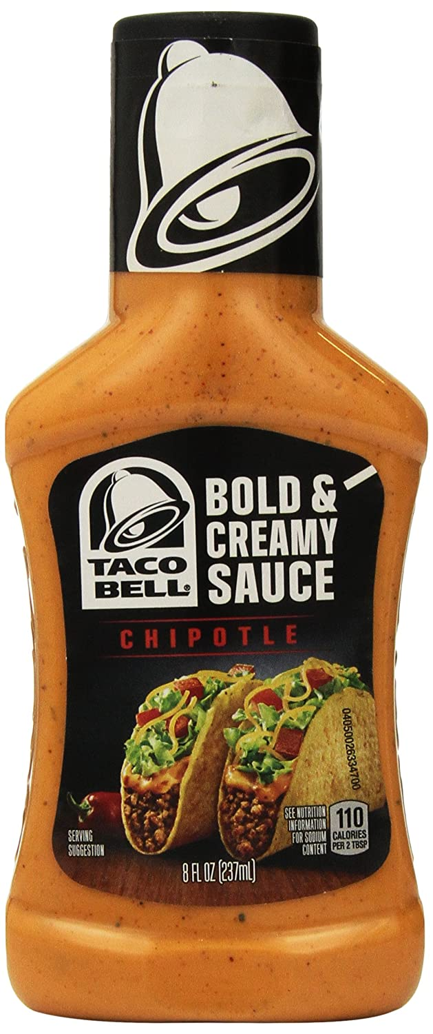 Amazon Com Taco Bell Chipotle Sauce 8 Oz Grocery Gourmet Food